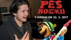 V kinech je animák Pes roc(k)u, mluví ho Ondřej Gregor Brzobohatý!
