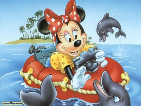Minnie je přítelkyně Mickeyho Mouse