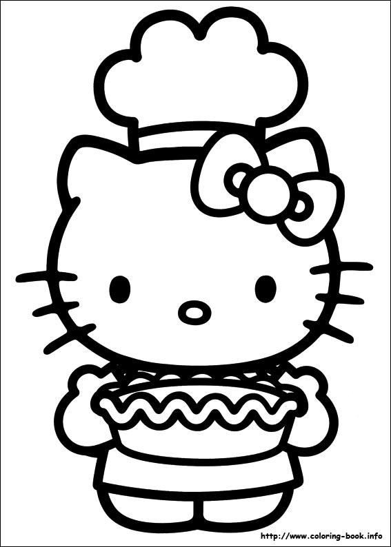 Pin Hello Kitty Omalovanky 1 On Pinterest