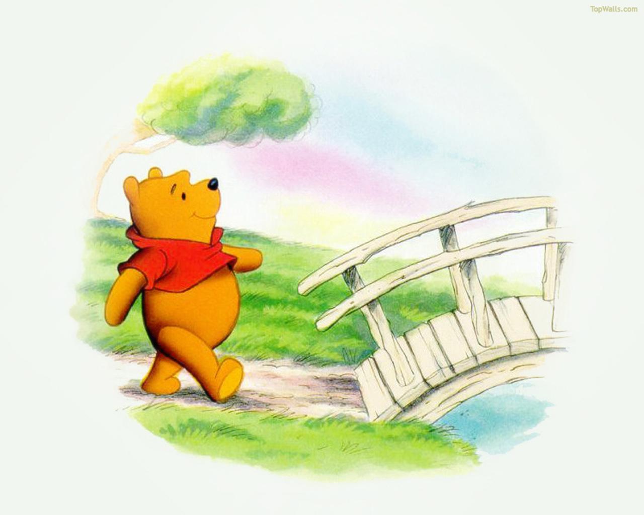 Pin obrazky medvidek pu 7jpg on pinterest for Escritorio infantil