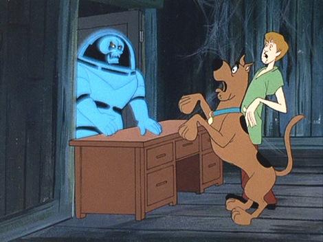 Shaggy se svým nejlepším přítelem Scoobym