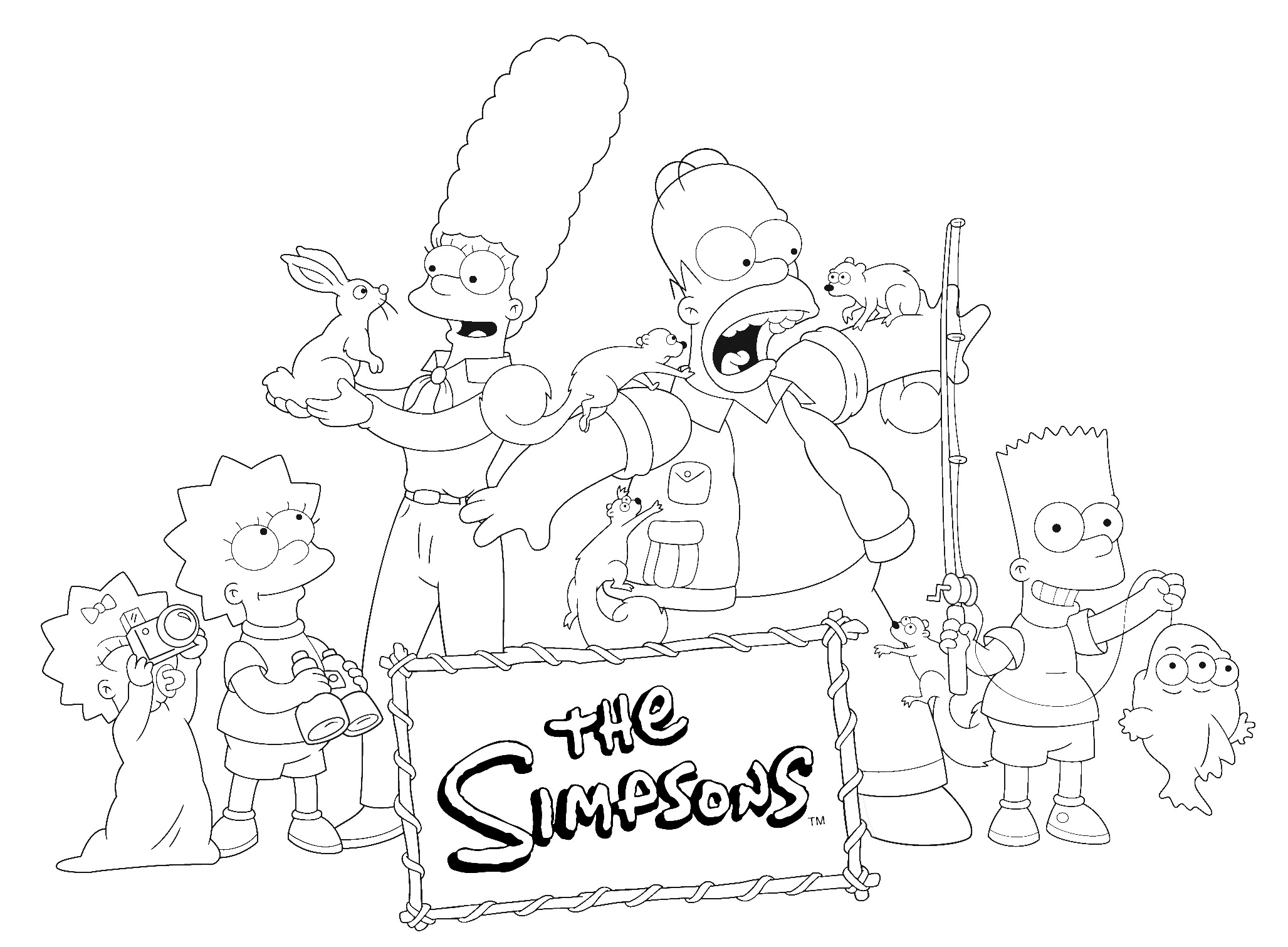 Simpsonovi omalov nka 359 poh dk cz - Coloriage simpson halloween ...